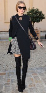Olivia Palermo - thigh high boots