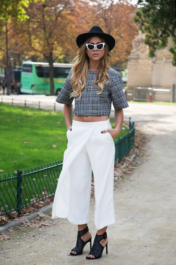 culottes and cop top