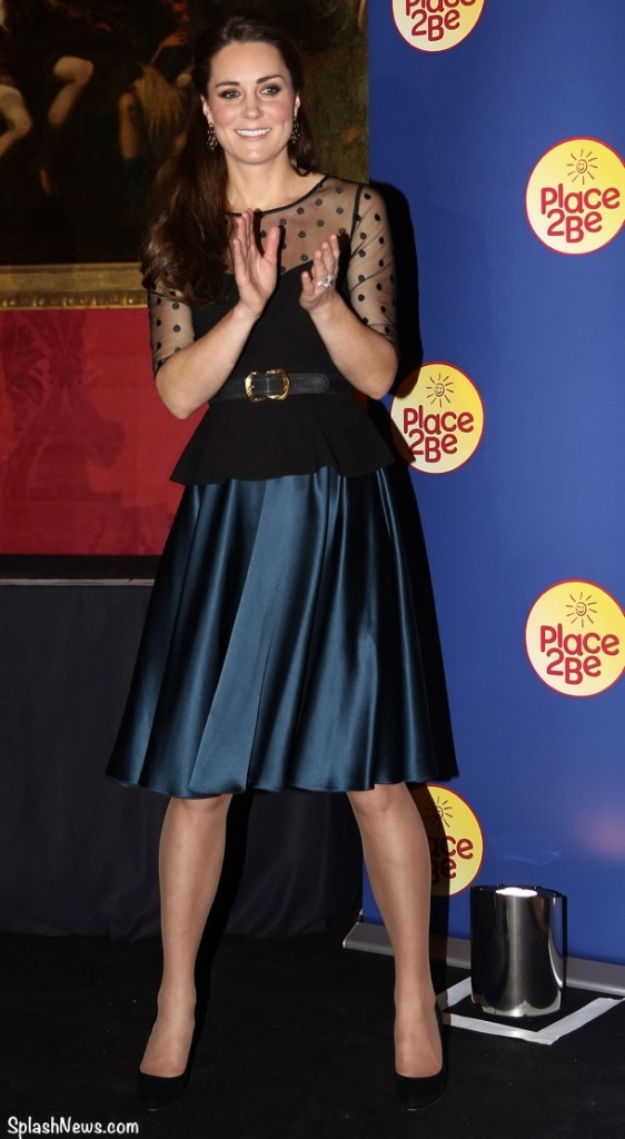 The Duchess of Cambridge attends the Place2be Wellbeing in schools award at Kensington Palace