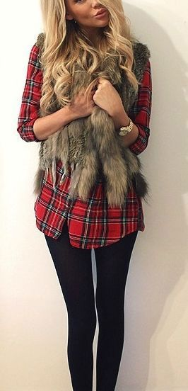 holiday dressing faux fur scarf