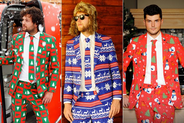 holiday dressing suit
