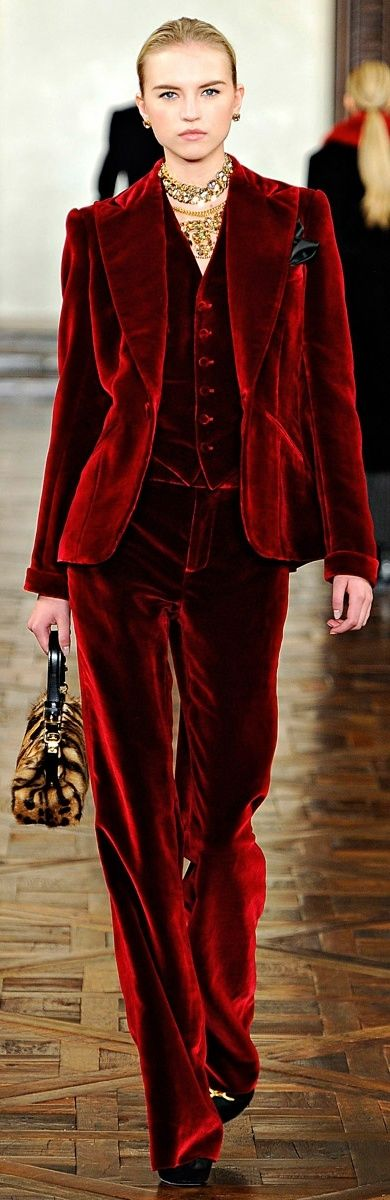 holiday dressing velvet suit