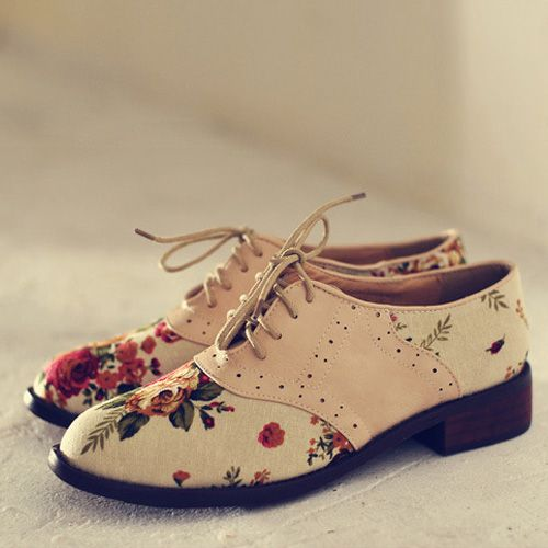 floral oxford