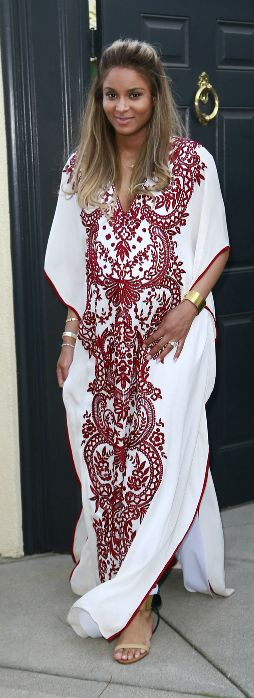 caftan embroidered