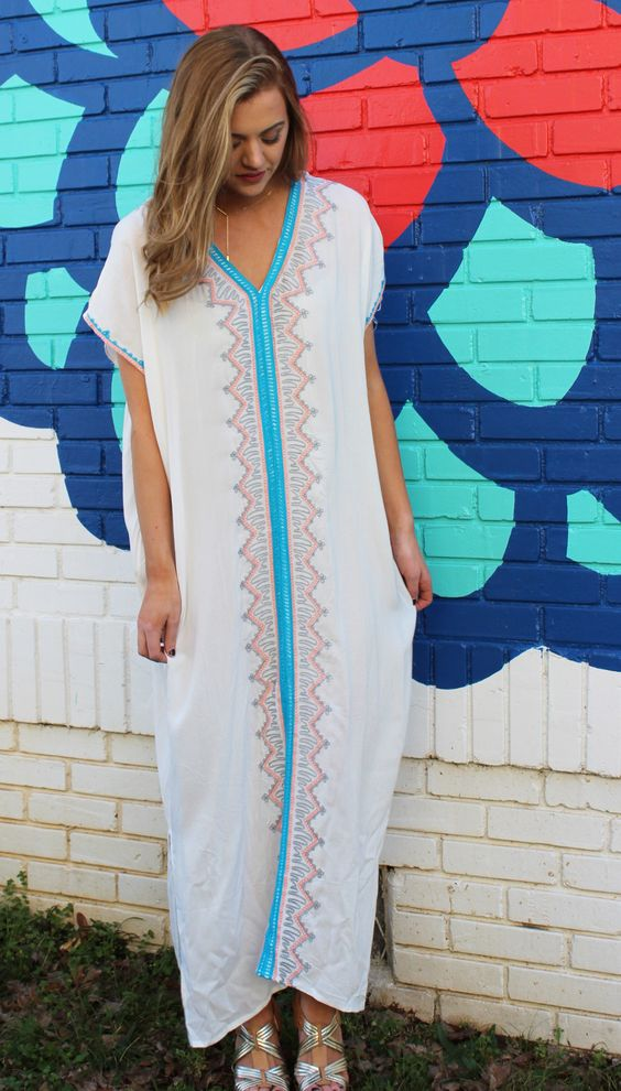 caftan summer dress