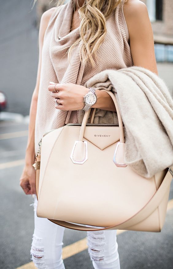 summer essentials structured bag