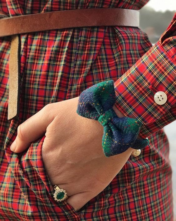 plaid-and-bow